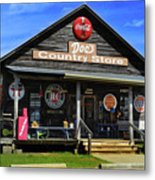Doc's Country Store Metal Print