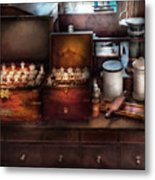 Doctor - Doctor In A Box Metal Print