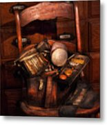 Doctor - Inside A Doctors Bag Metal Print