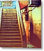 Doctor's Office In Tangier Metal Print