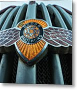Dodge Brothers Emblem Jerome Az Metal Print