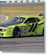 Dodge Challenger At Daytona Speedway Metal Print