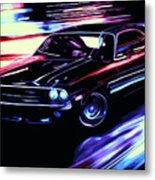 Dodge Challenger Rt 1970 Metal Print