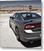 Dodge Charger Srt8 Metal Print