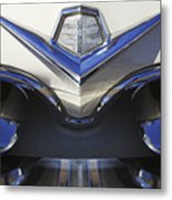 Dodge Custom Royal V8 Hood Ornament Metal Print