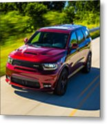 Dodge Durango Srt 2018 Metal Print