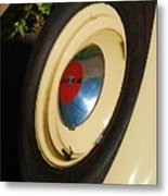 Dodge Tire Metal Print
