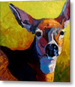Doe Portrait V Metal Print