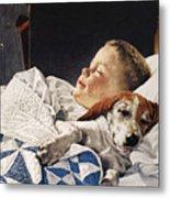 Dog Food Ad, 1956 Metal Print
