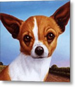 Dog-nature 3 Metal Print