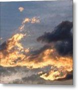 Dog Race Cloudscape 1 Metal Print