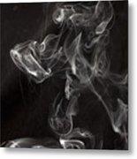 Dog Smoke Metal Print by Garry Gay