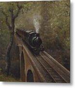 Dolgoch Viaduct Metal Print