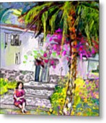 Doll House In Turre Metal Print
