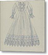 Doll's Dress Metal Print
