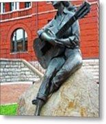 Dolly Pardon Statue 1 Metal Print