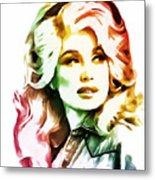 Dolly Parton Collection - 1 Metal Print