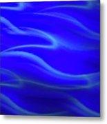 Dolphin Waves Metal Print