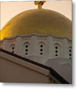 Dome And Cross At St Sophia Metal Print