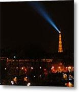 Dome Eiffel Tower Paris France Metal Print