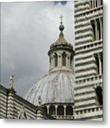 Dome In Siena Metal Print
