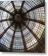 Dome Of The Galleries Lafayette Metal Print