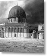 Dome Of The Rock - Jerusalem Metal Print