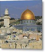 Dome Of The Rock Jerusalem Israel Metal Print