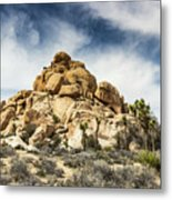 Dome Rock - Joshua Tree National Park Metal Print