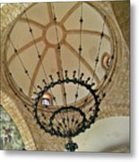 Dome Structure And Decoration Metal Print