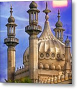 Domes In The Sunset Metal Print
