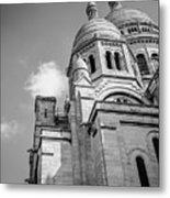 Domes Of Sacre Coeur Metal Print