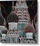 Domes Of St. Basil Cw Metal Print