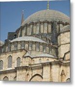Domes Of Suleymaniye Mosque Metal Print