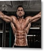 Dominant Testo Review Boost Your Testosterone Level Metal Print