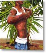 Dominican Beach Metal Print