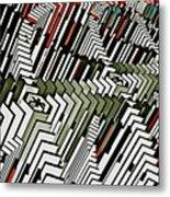 Dominos Metal Print