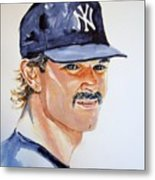 Don Mattingly Metal Print