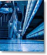 Don Mill Blue Metal Print
