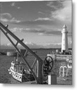 Donaghadee Fishing Wharf Metal Print