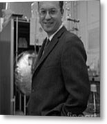Donald Glaser, American Physicist Metal Print