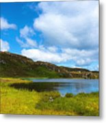 Donegal Landscape Metal Print