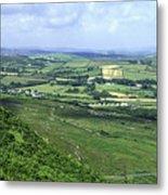 Donegal Patchwork Farmland Metal Print