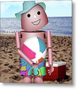 Don't Forget The Sunscreen Metal Print