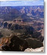 Don't Get Too Close To The Edge Metal Print