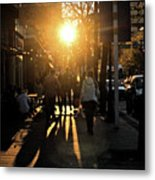 Dont Go Into The Light Metal Print