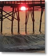 Don't Let The Sun Go Down On Me  Metal Print