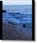 Don't Wait For Your Ship To Come In, Swim Out To It Metal Print