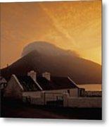 Doogort And Slievemore, Achill Island Metal Print