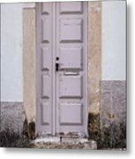 Door No 204 Metal Print